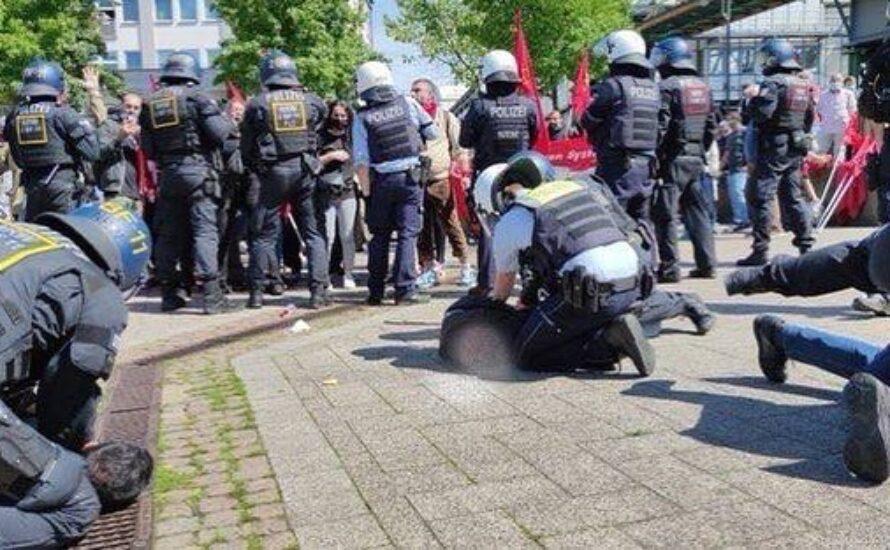 Kampf der Polizeirepression gegen die Engels-Gedenkdemonstration in Wuppertal!