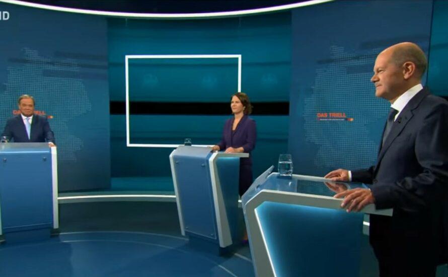 TV-Triell: wie lassen sich mehr Profite mit Klimawandel machen?