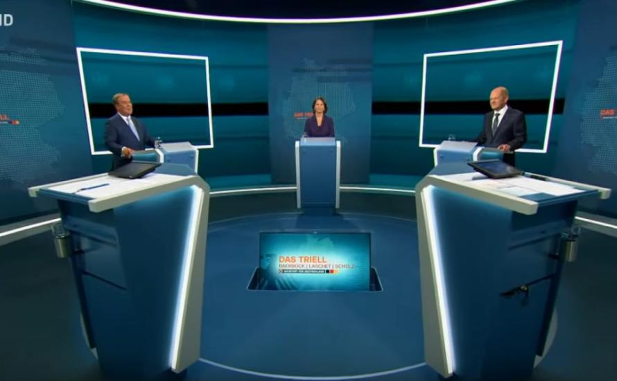 TV-Debatte: Wettkampf der Kriegstreiber:innen