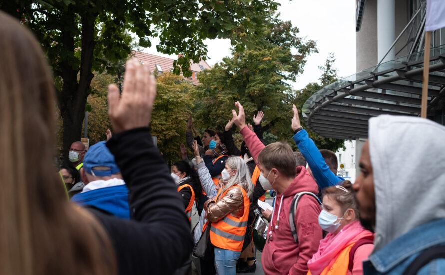 Berliner Krankenhausbewegung kurz vor Abschluss? Gemeinsam kämpfen bis zum Schluss!