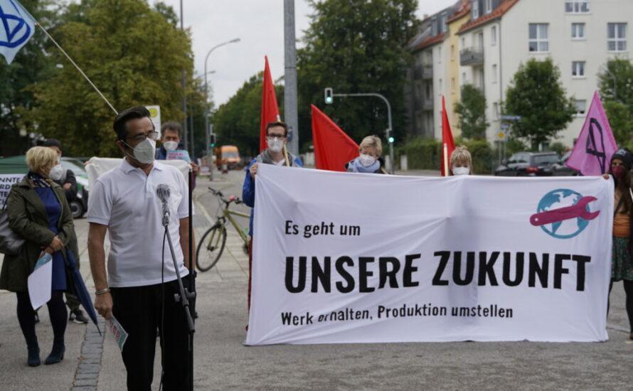 Solidarität mit den Beschäftigten bei Bosch