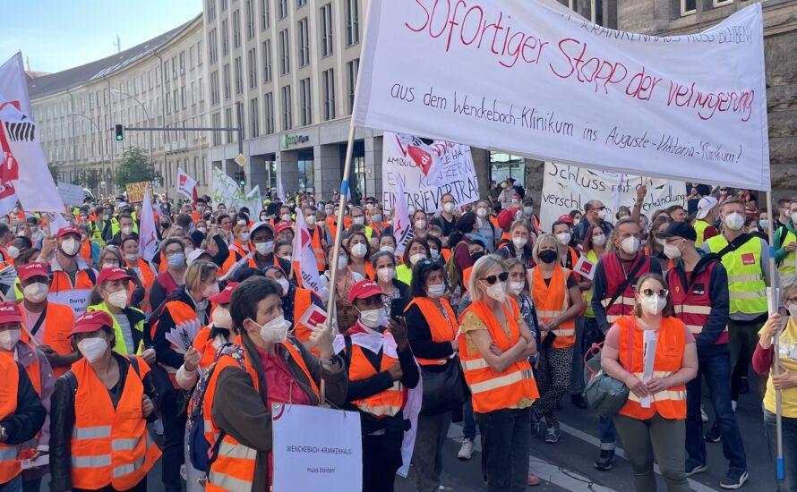 Vivantes/Charité: Kapitalismus raus aus der Klinik!