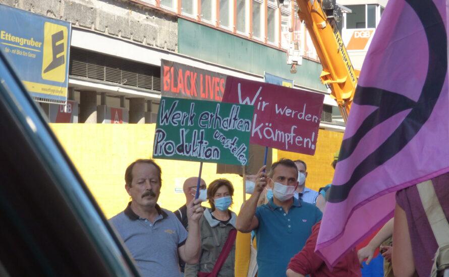 Petition der Bosch-Belegschaft: Werk erhalten, Produktion umstellen