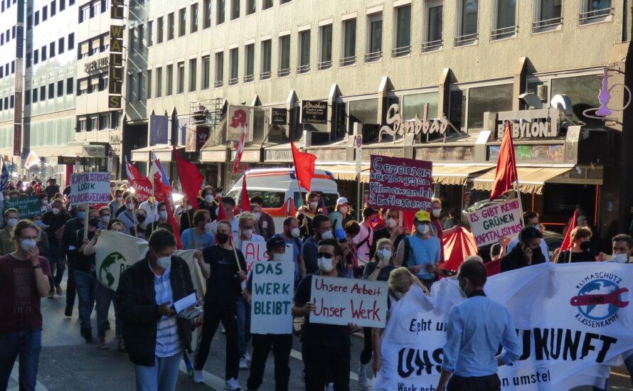 Erste Demo gegen Schließung bei Bosch: der Kampf beginnt