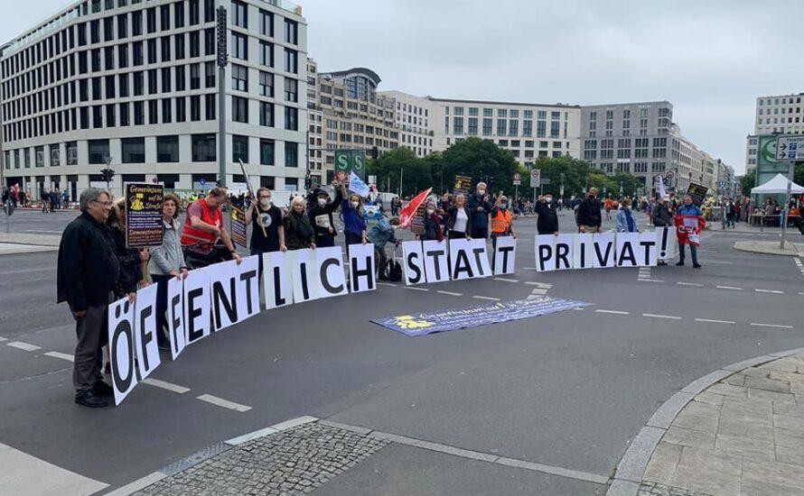 Öffentlich statt privat: Gemeinsam auf die Straße am 18. September in Berlin
