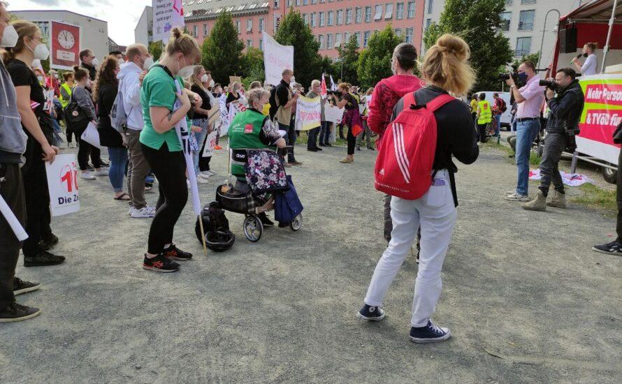 Berliner Krankenhausbewegung: Von diesen Forderungen darf nicht abgerückt werden!