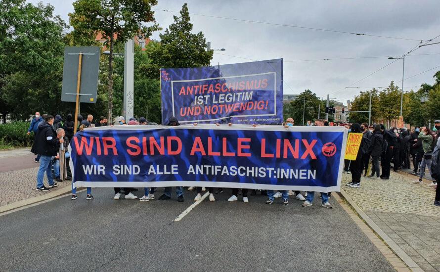 Solidarität gegen ihre Repression: Bürgerliche Hetze nach