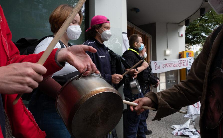 Boykottiert Gorillas, spendet für die Streikkassen!