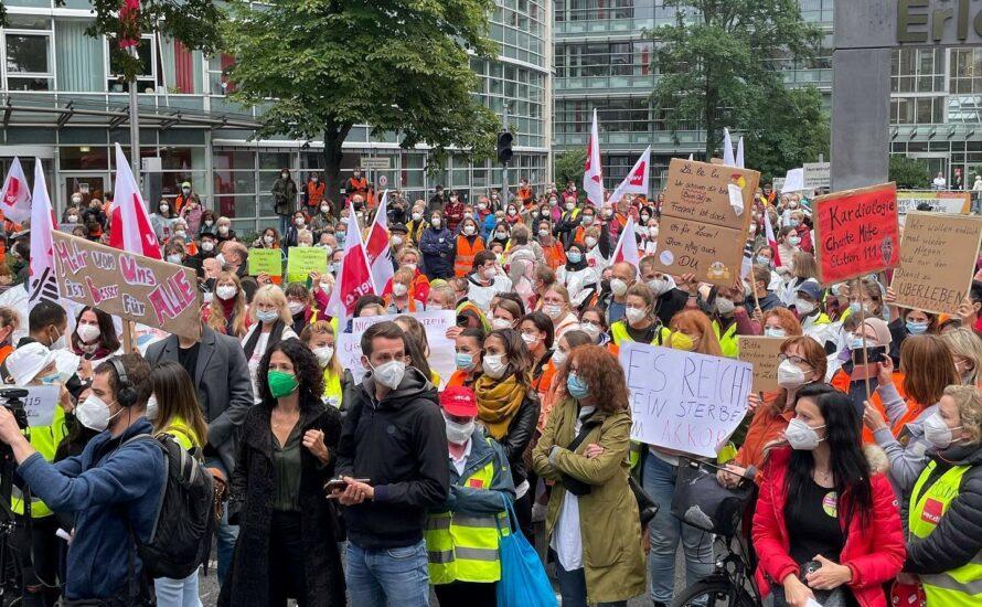 Großdemo am Samstag: Berlin steht für seine Krankenhausbeschäftigten auf!