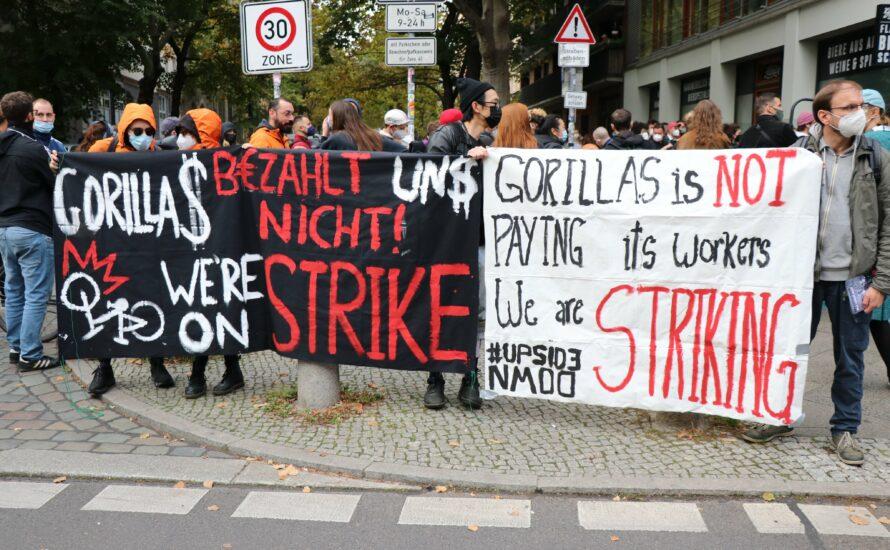 Nach Kündigungswelle: Gorillas-Beschäftigte rufen zu Boykott auf