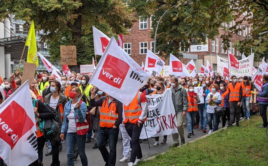 Einigung bei der Charité - aber der gemeinsame Streik muss weitergehen!