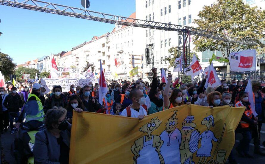 Vivantes: Gemeinsam weiterstreiken bis Donnerstag und TVöD!