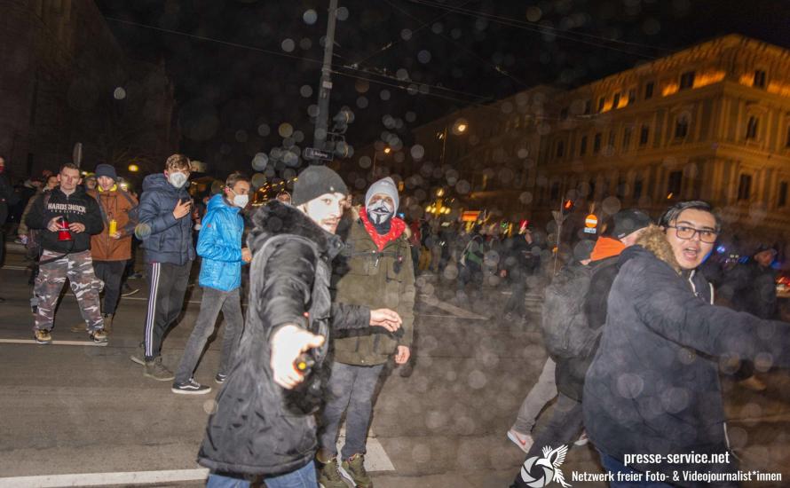 Die Österreichische Polizei zeigt ihre Gesinnung