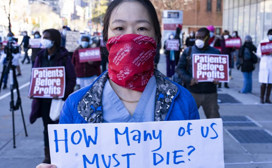 Frauen an der vordersten Front im Kampf gegen die Gesundheitskrise und gegen den patriarchalen und rassistischen Kapitalismus!