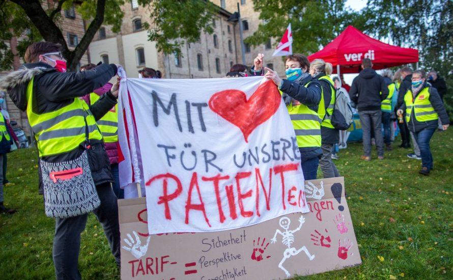 Abschluss im öffentlichen Dienst aus Sicht der Pflege: Nein zu Spaltung und Scheinlösungen