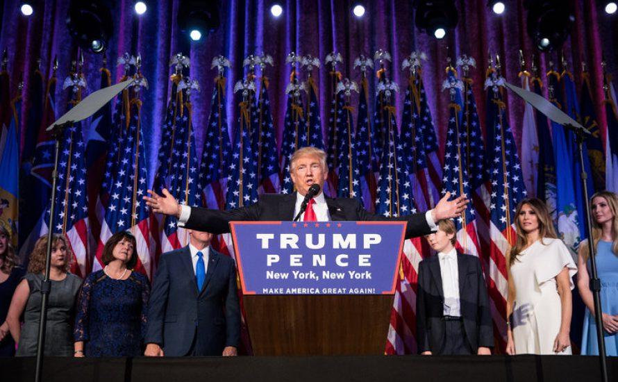Politisches Erdbeben: Trump wird 45. US-Präsident