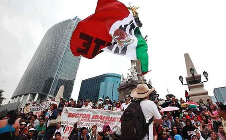 Solidarität mit den Lehrer_innen in Mexiko!