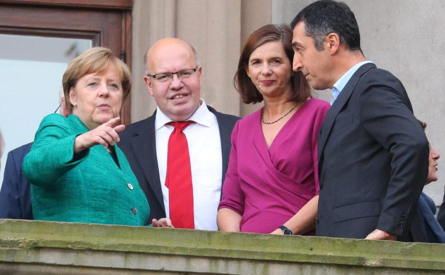 Grüne und FDP: Viel Lärm, aber am Ende steht Merkel