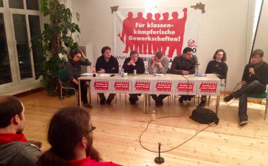 Seminar für klassenkämpferische Gewerkschaften