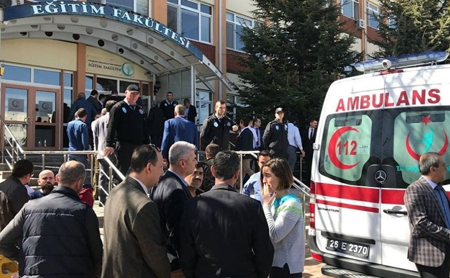 Massaker an türkischer Universität