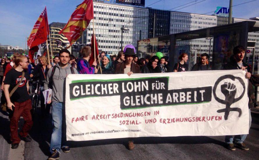 Frauenkampftag in Berlin