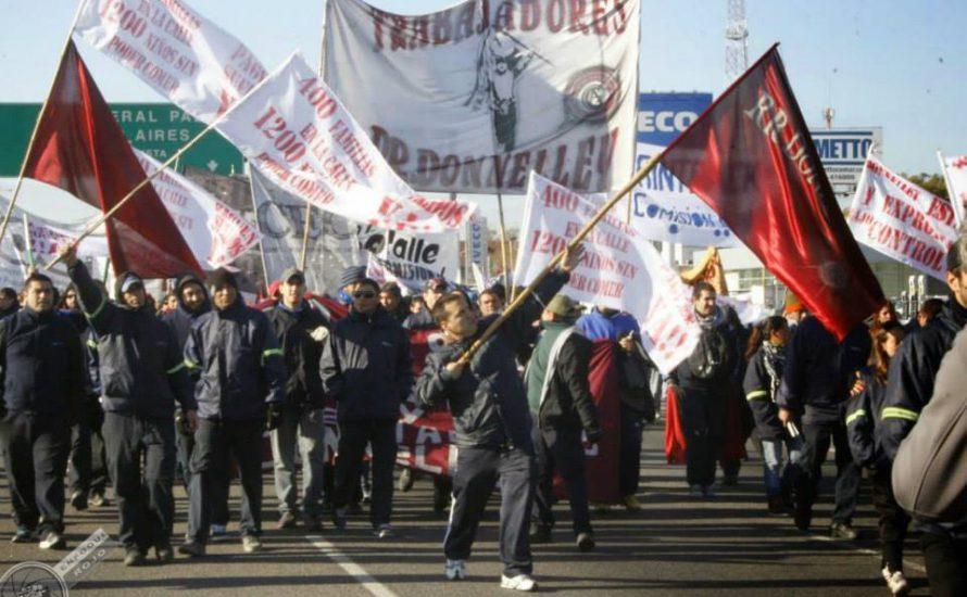 Donnelley: Für die Verstaatlichung unter ArbeiterInnenverwaltung
