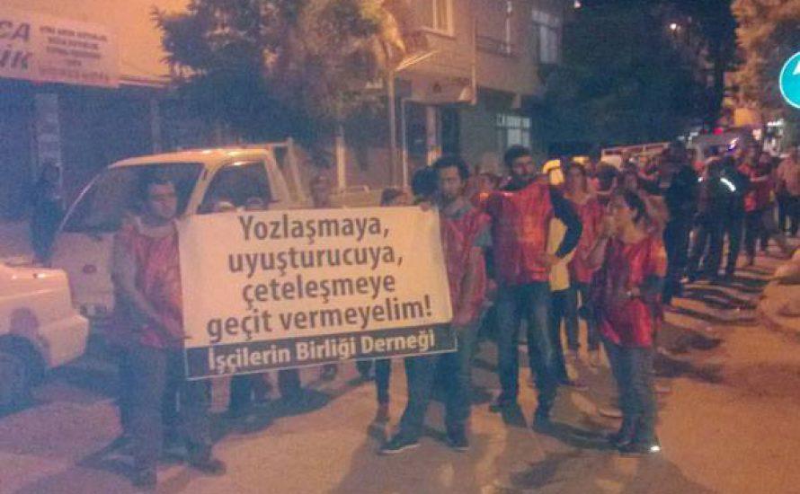 Gegen den Angriff auf einen ArbeiterInnenverein in Istanbul!