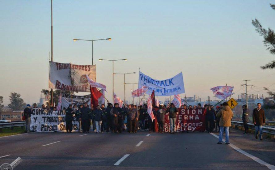 Argentinien: Millionen von ArbeiterInnen streiken im ganzen Land