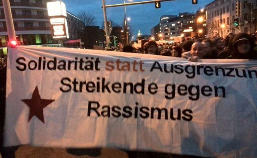 Gegen den Rassismus heißt gegen das Regime!