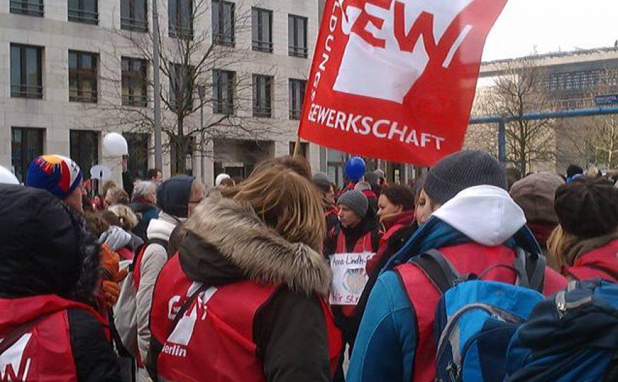 Warnstreik der LehrerInnen und ErzieherInnen in Berlin