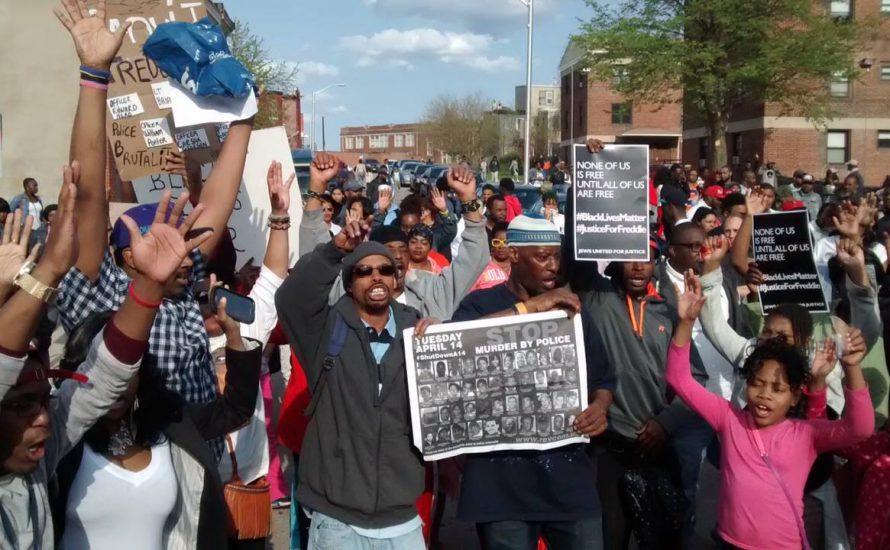 Die Jugend Baltimores erhebt sich