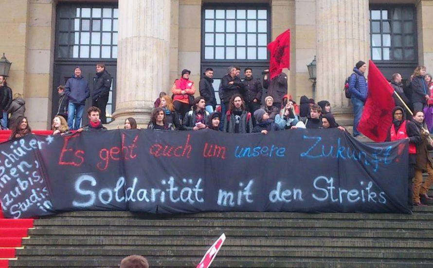 Berlin: 12.000 beim Warnstreik