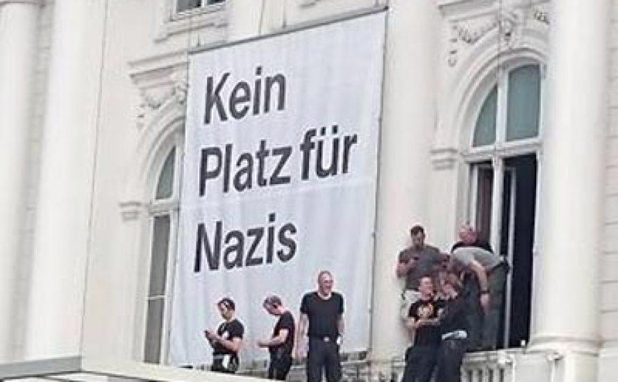 Protest trotz Provokationen