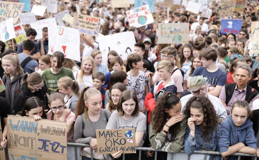 Fridays for Future: Deutschlandweit 320.000 Menschen auf der Straße