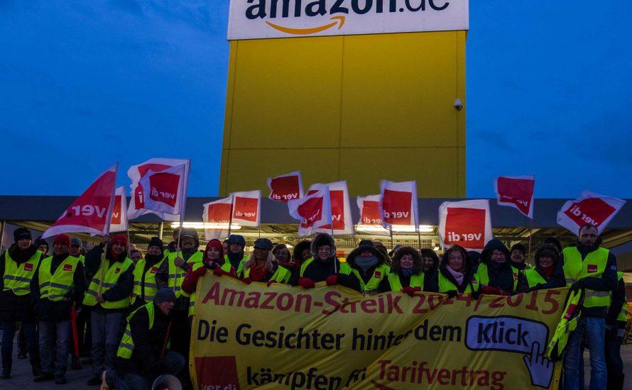 Cyber Monday: Streiks bei Amazon!