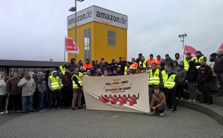 Amazon: Internationalistische Grußbotschaften aus Poznań und Leipzig