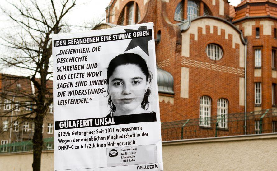 Solidarität mit Gülaferit Ünsal!