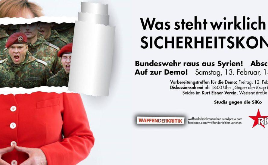 Von der SiKo zum Schul- und Unistreik: Was am Wochenende in München geht