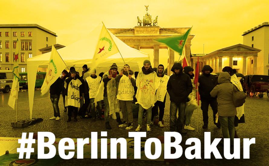 Hungerstreik der kurdischen Jugend