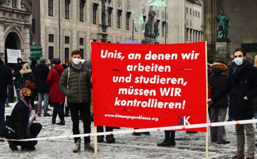 Gegen die Hochschulreform hilft nur der Kampf gegen die gesamte Krise!