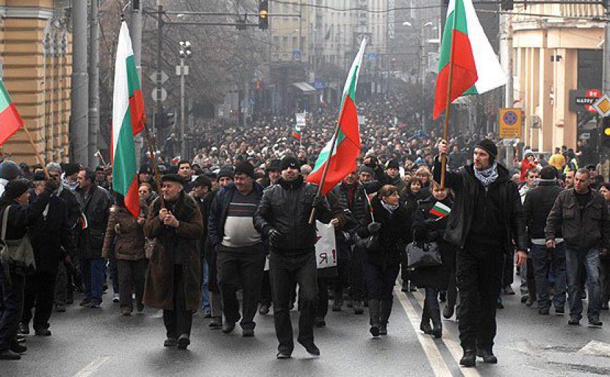Demonstrationen und Rücktritt der Regierung in Bulgarien