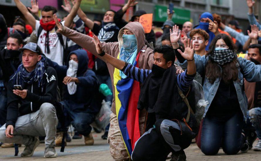 """Generalstreik in Kolumbien: """"Wir sind diejenigen, die in die Prekarität gedrängt werden"""""""