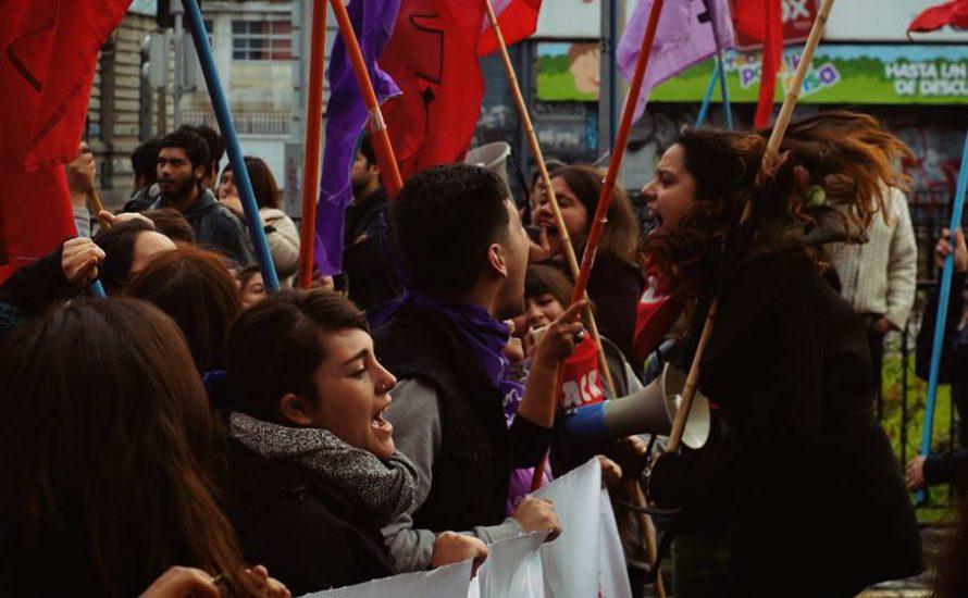 Chile: Studierende und Schüler*innen gehen in die Offensive [Fotogalerie]