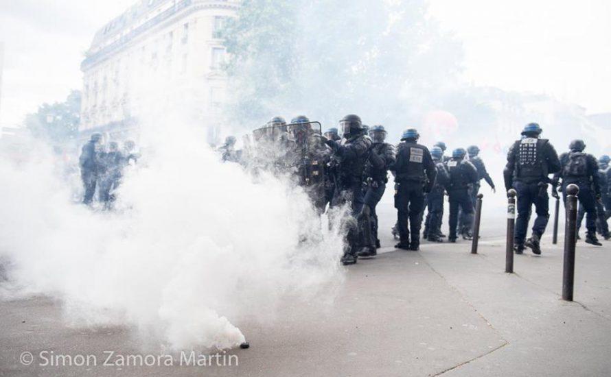 [Fotoreportage] Eine Million Menschen streiken in Paris