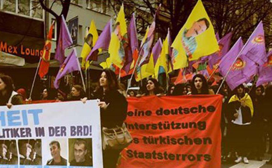 9.7. in Düsseldorf: Kurdische Großdemo gegen deutsche Repression