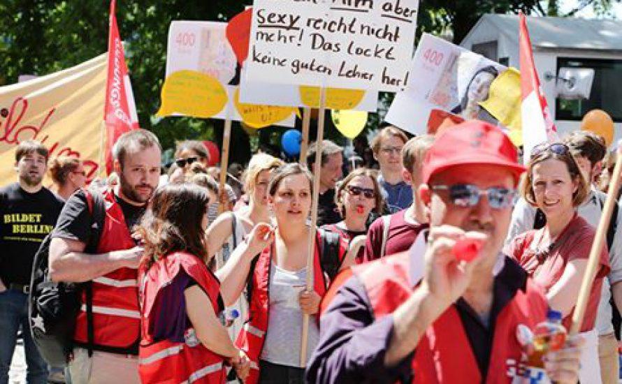 Berlins Lehrer*innen werden eine Woche lang streiken [mit vier Vorschlägen dazu]