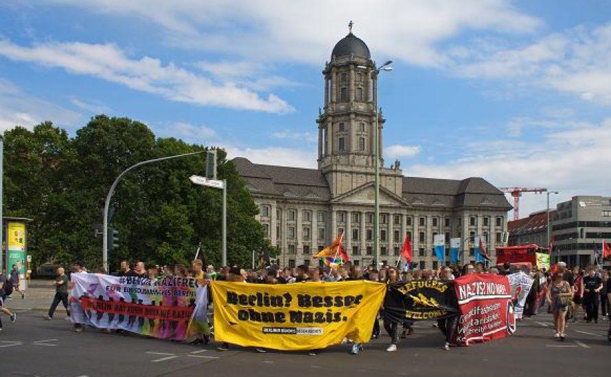 [Fotogalerie] Eindrücke der #BerlinNaziFrei-Demonstration
