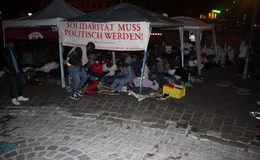 Non-Citizens in München: Erklärung nach sechs Tagen Protest