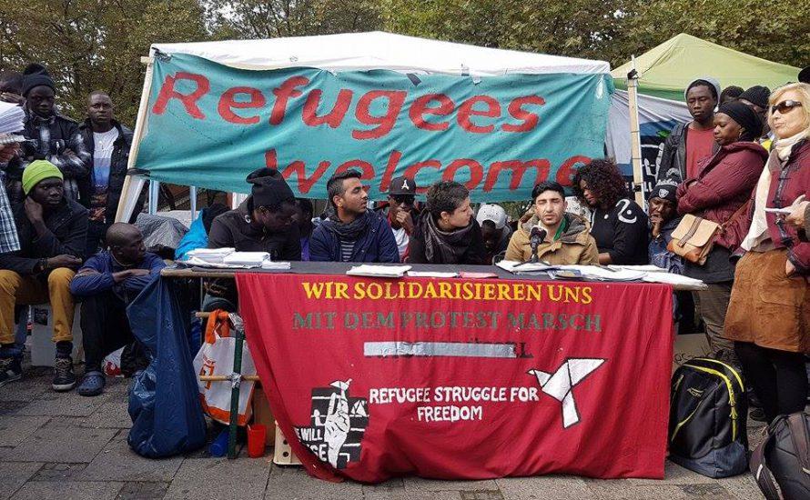 20. Tag – Der Protest der Non-Citizens am Sendlinger Tor