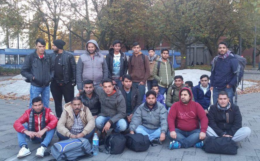 Geflüchtete in München treten in den Hungerstreik für Bleiberecht